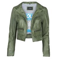 Abbigliamento Donna Giacca in cuoio / simil cuoio Oakwood TRISH Verde