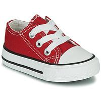Scarpe Unisex bambino Sneakers basse Citrouille et Compagnie OTAL Rosso