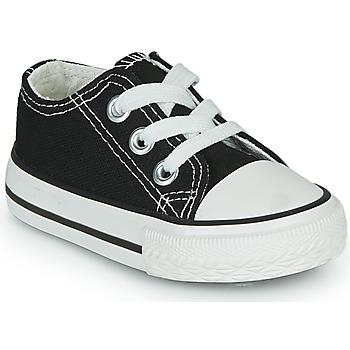 Scarpe Unisex bambino Sneakers basse Citrouille et Compagnie OTAL Nero