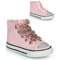 Scarpe Bambina Sneakers alte Citrouille et Compagnie OUTIL Rosa