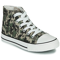 Scarpe Unisex bambino Sneakers alte Citrouille et Compagnie OUTIL Camouflage