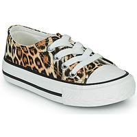 Scarpe Bambina Sneakers basse Citrouille et Compagnie OTAL Leopard
