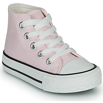 Scarpe Bambina Sneakers alte Citrouille et Compagnie OUTIL Rosa