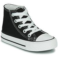 Scarpe Unisex bambino Sneakers alte Citrouille et Compagnie OTAL Nero