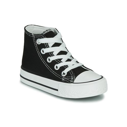 Scarpe Unisex bambino Sneakers alte Citrouille et Compagnie OUTIL Nero