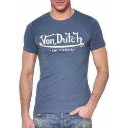 Abbigliamento Uomo T-shirt maniche corte Von Dutch VD/TRC/LIFE Blu