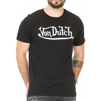 Abbigliamento Uomo T-shirt maniche corte Von Dutch VD/TVC/RON Nero