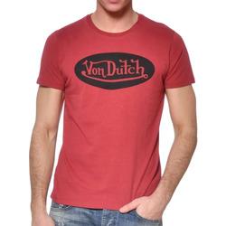 Abbigliamento Uomo T-shirt maniche corte Von Dutch VD/TSC/FRONT Rosso