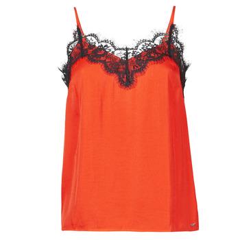 Abbigliamento Donna Top / T-shirt senza maniche Les Petites Bombes AMY Arancio