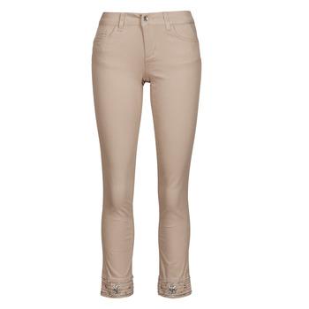 Abbigliamento Donna Pantaloni 5 tasche Liu Jo IDEAL Beige