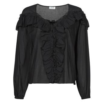 Abbigliamento Donna Top / Blusa Liu Jo WA1084-T5976-22222 Nero
