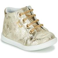 Scarpe Bambina Sneakers alte GBB FAMIA Beige