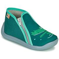 Scarpe Bambina Pantofole GBB APOMO Verde