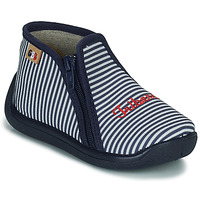 Scarpe Bambina Pantofole GBB APOMO Bianco
