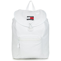 Borse Zaini Tommy Jeans TJM HERITAGE FLAP BACKPACK CAN Bianco