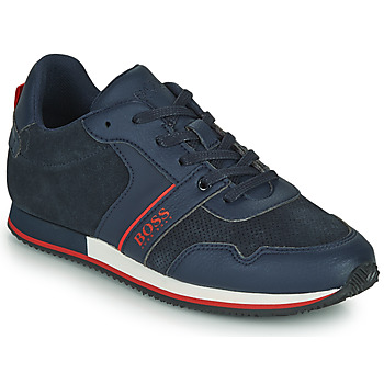 Scarpe Bambino Sneakers basse BOSS HOLLA Blu