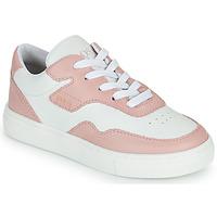 Scarpe Bambina Sneakers basse BOSS PAOLA Bianco / Rosa