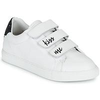 Scarpe Donna Sneakers basse Bons baisers de Paname EDITH KISS ME Bianco
