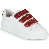 Scarpe Donna Sneakers basse Bons baisers de Paname EDITH BACK LIPS Bianco