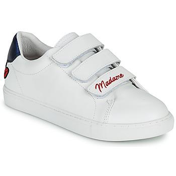 Scarpe Donna Sneakers basse Bons baisers de Paname EDITH MADAME MONSIEUR Bianco