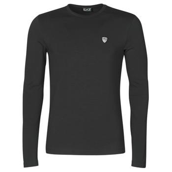 Abbigliamento Uomo T-shirts a maniche lunghe Emporio Armani EA7 8NPTL9-PJ03Z-1200 Nero