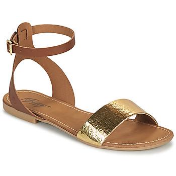 Scarpe Donna Sandali Betty London GIMY Camel / Oro