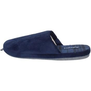Scarpe Uomo Pantofole De Fonseca ROMA TOP I M624 BLU