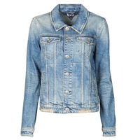 Abbigliamento Donna Giacche in jeans Tommy Jeans REGULAR TRUCKER JACKET USDRG Blu