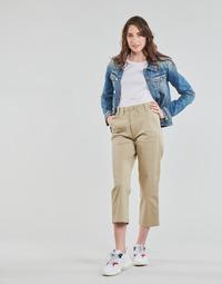 Abbigliamento Donna Chino Tommy Jeans TJW HIGH RISE STRAIGHT Beige