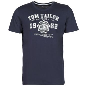 Abbigliamento Uomo T-shirt maniche corte Tom Tailor  Marine