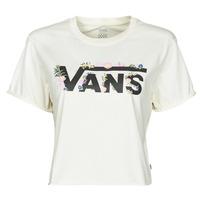 Abbigliamento Donna T-shirt maniche corte Vans BLOZZOM ROLL OUT Bianco