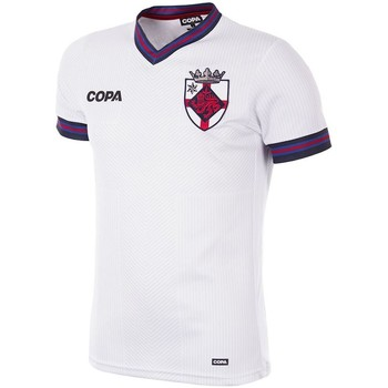 Abbigliamento Uomo T-shirt maniche corte Copa Football Maillot Copa Angleterre blanc