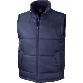 Abbigliamento Gilet / Cardigan Result Doudoune Sans Manche  Core bleu marine