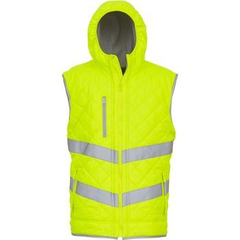 Abbigliamento Gilet / Cardigan Yoko Doudoune  Haute Visibilité jaune