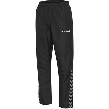Abbigliamento Unisex bambino Pantaloni da tuta Hummel Pantalon enfant  Authentic Micro noir/blanc