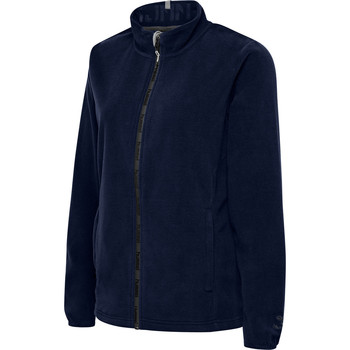 Abbigliamento Donna Felpe in pile Hummel Veste femme  full zip North Fleece bleu foncé