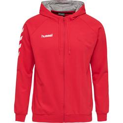 Abbigliamento Uomo Tuta Hummel Veste zippé  Hmlgo rouge/blanc/gris