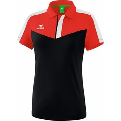 Abbigliamento Donna Polo maniche corte Erima Polo femme  Squad rouge/noir/blanc