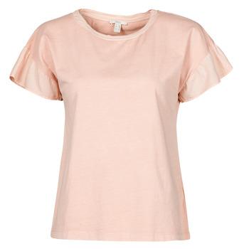 Abbigliamento Donna T-shirt maniche corte Esprit T-SHIRTS Rosa