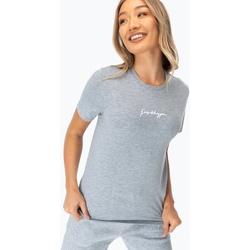 Abbigliamento Donna T-shirt maniche corte Hype  Grigio