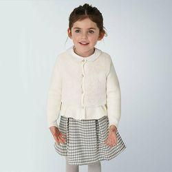 Abbigliamento Bambina Gilet / Cardigan Mayoral ATRMPN-23411 Beige