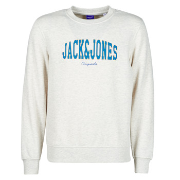 Abbigliamento Uomo Felpe Jack & Jones JORHART Bianco