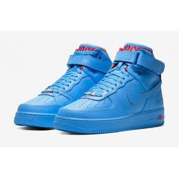 Scarpe Sneakers alte Nike Air Force 1 High x Don C University Blue/University Blue