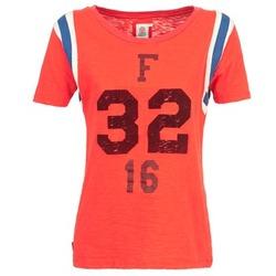 Abbigliamento Donna T-shirt maniche corte Franklin & Marshall POINTO CORAIL