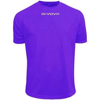 Abbigliamento Uomo T-shirt maniche corte Givova One Viola