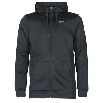 Abbigliamento Uomo Felpe Nike TF HD FZ Nero / Grigio