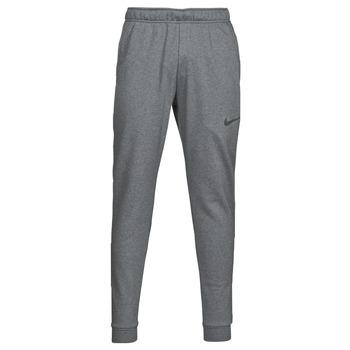 Abbigliamento Uomo Pantaloni da tuta Nike DF PNT TAPER FL Grigio / Nero