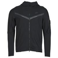 Abbigliamento Uomo Giacche sportive Nike NSTCH FLC HOODIE FZ WR Nero