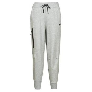 Abbigliamento Donna Pantaloni da tuta Nike NSTCH FLC ESSNTL HR PNT Grigio / Nero