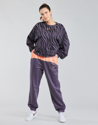 Abbigliamento Donna Pantaloni da tuta Nike NSICN CLSH JOGGER MIX HR Viola / Rosa